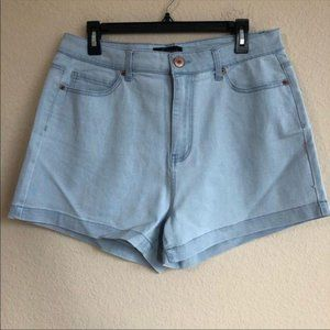 Forever 21 Jean Shorts Light Wash  NWT